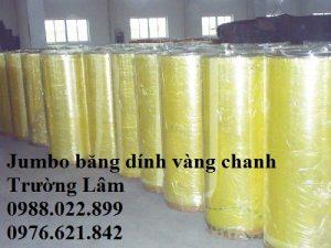 Jumbo băng dính vàng chanh Công ty Trường Lâm